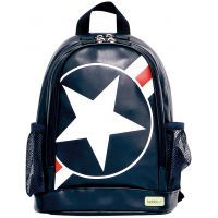 Bobble Art Star & Stripe Small PVC Backpack www.mamadoo.com.au #mamadoo #bags #kidsbackpacks