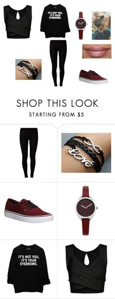 """Untitled #11"" by laniyahmeg ❤ liked on Polyvore featuring Majestic, Vans and Oasis"