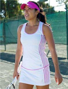 JoFit Rally Tennis Skort & Tennis Tank | #Golf4Her