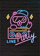 LINE STORE is LINE's official online store. It offers themes that let you wrap your LINE app in your favorite characters. Themes feature everything from anime superstars to chic, color-based designs.