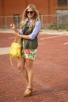 Devon Rachel Gingham & Floral