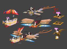 Penguins of Madagascar Madagascar Movie, Penguins Of Madagascar, Motion Design, Dreamworks, Decoration, Art Tutorials, Art Sketches, 2d, Concept Art