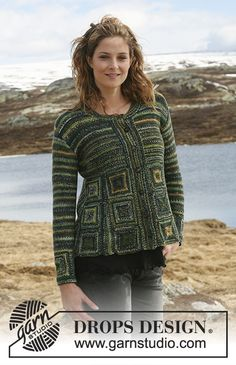 Free knitting patterns and crochet patterns by DROPS Design Knitting Paterns, Free Knitting, Drops Design, Magazine Drops, Crochet Cardigan Pattern, Crochet Patterns, Shrug Cardigan, Knit Jacket, Cardigans For Women