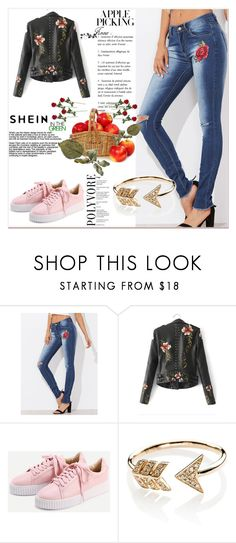 """""""Shein - 9"""" by thefashion007 ❤ liked on Polyvore featuring EF Collection"""