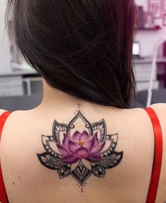 Love this lotus tattoo