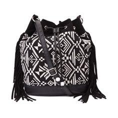 Womens Aztec Bucket Handbag