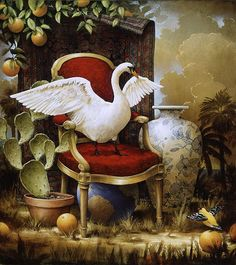 king of the world - Allegorical Paintings by Kevin Sloan <3 <3