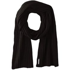Soia and Kyo Vika Black Scarf (845 ZAR) ❤ liked on Polyvore featuring accessories, scarves, black, black shawl, long shawl, oblong scarves, black scarves and long scarves