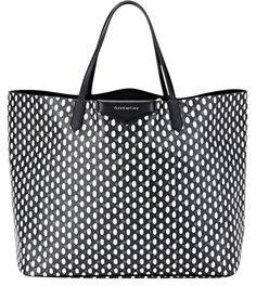 93d892c95bbb Givenchy New and White Geometric-print Coated Canvas Antigona Large Shopper  Leather Tote 39% off retail