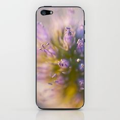 Sea Holly iPhone & iPod Skin by David P Hunter - $15.00