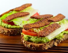 Vegan Avocado BLT Sandwich, yes you are reading correctly right it is a Vegan BLT and trust us you will not miss the real bacon.