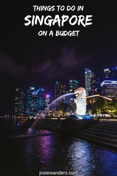 Check out these things to do in Singapore on a budget, including Singapore sights, & where to stay in Singapore on a budget. Singapore Sights, Singapore Attractions, Singapore Travel Tips, Stay In Singapore, Singapore Garden, Singapore Itinerary, Luang Prabang, Laos, Stuff To Do