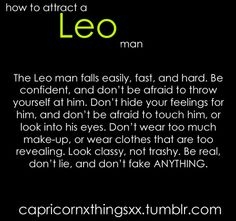What Is It Like Dating A Leo Man