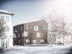 Volksbank Brakel Architektur Contor Müller Schlüter ACMS Planungsgesellschaft mbH 2014 #office http://rdt.ac/e1046