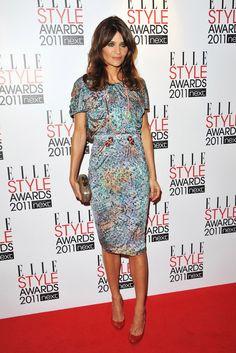 <3 Helena Christensen at the ELLE Style Awards