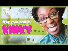 Why your hair is KINKY? - YouTube Coily Hair, Kinky Hair, African American Hairstyles, Natural Hair Styles, Youtube, Curly Hair, Coarse Hair, Coarse Hair, Youtubers