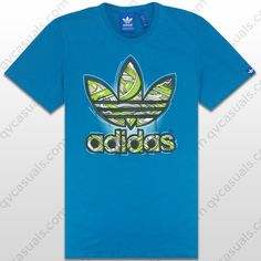 adidas Originals Mens G Tech Inside Trefoil T Shirt Z80031 at QV casuals. Save on a huge range of big brand tees.