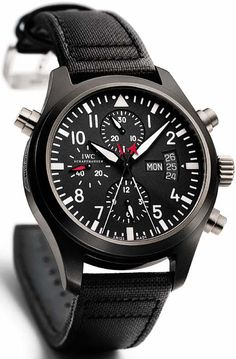 IW3799-01 IWC Pilot's Double Chronograph TOP GUN Mens Watch