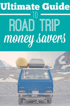 Road trips are fun... but what they do to your wallet can be really awful!  It doesn't always have to be super expensive to go on a road trip. These are some really great things to remember! My favorite tip is about Starbucks!