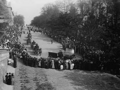 Funeral of John Jacob Astor IV,  May 4th, 1912.