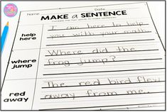 Sight Word Packets