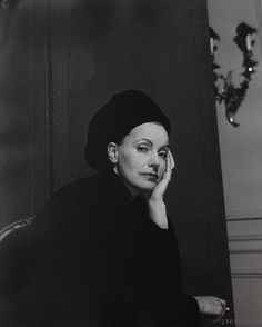 Greta Garbo photographed by Cecil Beaton, 1946