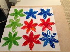 360 Fusion Glass Blog: Working with Powders to Make Fused Glass Votives