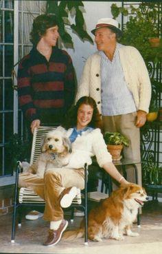Gene Kelly and Children Tim & Bridget