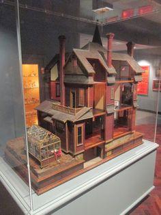 Tulsa Tiny Stuff: Antique Dollhouse - the back