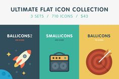 Ultimate Flat Icon Collection - Icons - 1