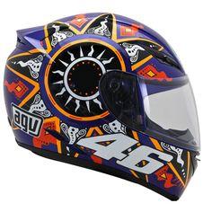 Capacete AGV K3 Moto GP Réplica - MOTO BR Racing Helmets, Helmet Design, Valentino Rossi, Motogp, Bikers, Airbrush, Cars And Motorcycles, Cali, Cycling
