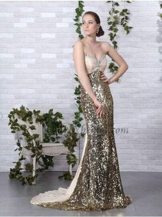 (CLICK IMAGE TWICE FOR PRICING AND INFO:) #women #womendresses #eveninggown #cocktaildress #wedding #weddinggown #eveningdresses #prom Brilliant Sheath Sweetheart Brush Train Taffeta Evening Dress SSC4391-L