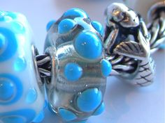 """This unique from RT's """"Bahamas Bracelet"""" is so beautiful and unusual... love the silver and turquoise combination!"""