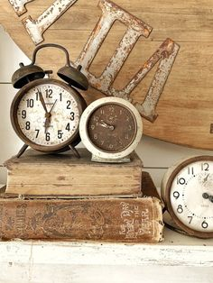 DIY Old Clocks