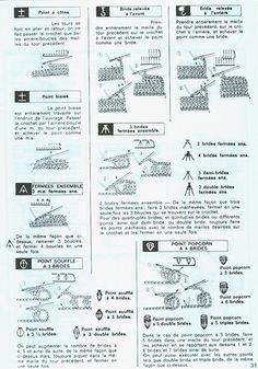 Revista: 1000 Mailles № 30-35, 1980 (guardanapos, toalhas de mesa, cortinas, colchas) - rede de malha, os raios e um gancho - Creative Hands - Publisher - linha de vida