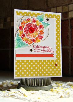 Robin's Stamping Nest: Make It Monday on Tuesday!
