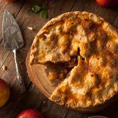 Παραδοσιακή αμερικάνικη μηλόπιτα Cinnamon Recipes, Apple Pie Recipes, Best Apple Pie, Pie Shop, Pie Plate, Yummy Food, Nutrition, Desserts, Tailgate Desserts