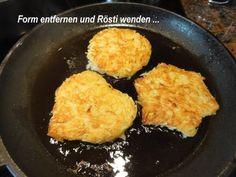 Rezept: Kartoffel: RÖSTI schnell selbstgemacht Bild Nr. 3
