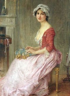 Charles-Amable Lenoir, The Seamstress (also known as The Lace Maker)