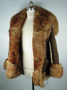 Manteau de fourrure de raton laveur pour homme sur mesure moyenne ...