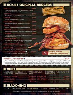 67 Best Garage Burger Images On Pinterest Barber Shop