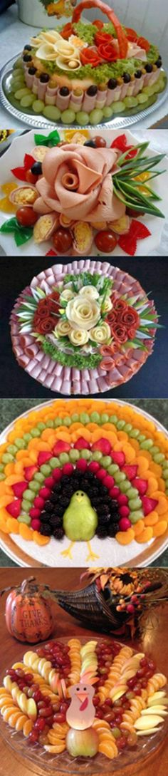 64 New Ideas For Cheese Platter Presentation Display Party Trays Cheese Party Trays, Meat And Cheese Tray, Meat Trays, Meat Platter, Food Platters, Cheese Platters, Fruit Decorations, Food Decoration, Snacks Für Party