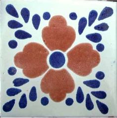 blue pottery in Mexico- Mom and her many trips to Baja bringing back these and making table, after table with these...