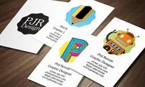 PJR Design Business Card Design by Phil Rennie