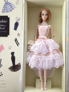 BARBIE SILKSTONE PLANTATION BELLE - NEW NRFB AND MINT 27084110005   eBay Belle Barbie Doll, Barbie Box, Barbie Dream, Barbie And Ken, White Tulle, White Satin, Pink Satin, White Cotton, Poppy Parker