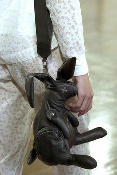 Bunny bag - Christopher Raeburn Spring 2013 RTW