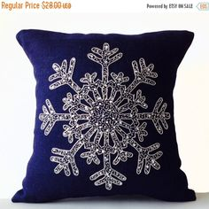 Christmas Pillow Silver Sequin Pillow Snowflake Navy Blue Pillows Cover Burla - Pillows Case - Ideas of Pillows Case - Christmas Pillow Silver Sequin Pillow Snowflake Navy Blue Pillows Cover Burlap Pillow Case Throw Navy Blue Decor, Navy Blue Pillows, Silver Pillows, Burlap Pillows, Throw Pillows, Decorative Pillows, Accent Pillows, Christmas Cushion Covers, Christmas Cushions