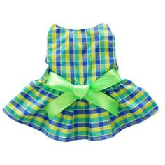 Casual Plaid Dog Dress Dog Clothes Cozy Dog Shirt Pet Dress, Small - http://www.thepuppy.org/casual-plaid-dog-dress-dog-clothes-cozy-dog-shirt-pet-dress-small/