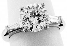 Reiff Company in Philadelphia, Pennsylvania. Brilliant Diamond, All That Glitters, Diamond Engagement Rings, Cufflinks, Accessories, Jewelry, Ring, Jewlery, Jewels