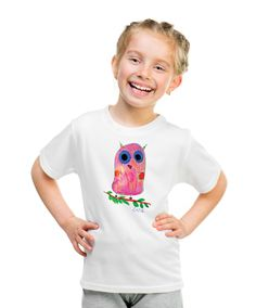 Owl T-shirt with autograph